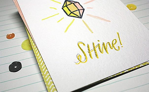 Shine pl card