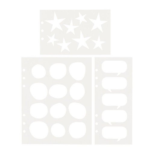 Picture of December Daily® 2021 Die Cut Cardstock Inserts