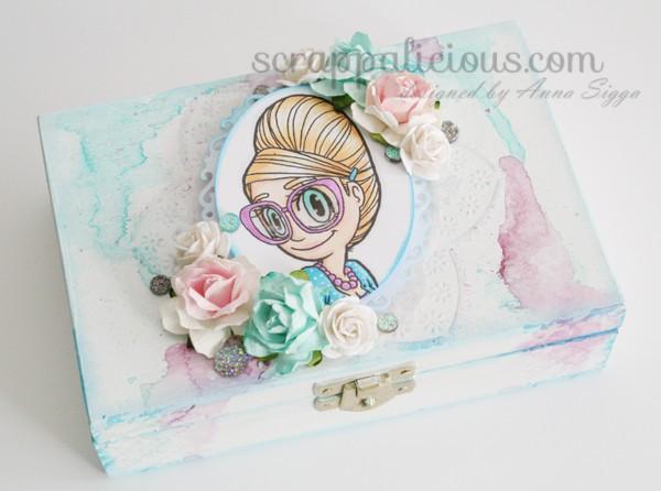 Pastel mae box