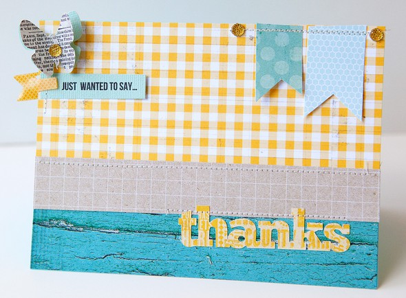 Just wanted to say thanks card   susan weinroth