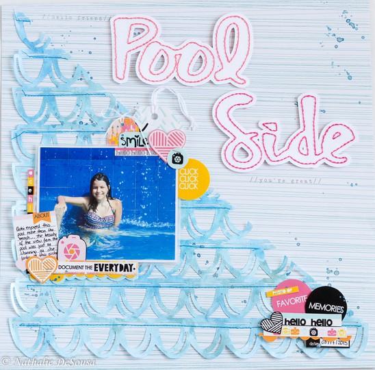 Pool side. final original