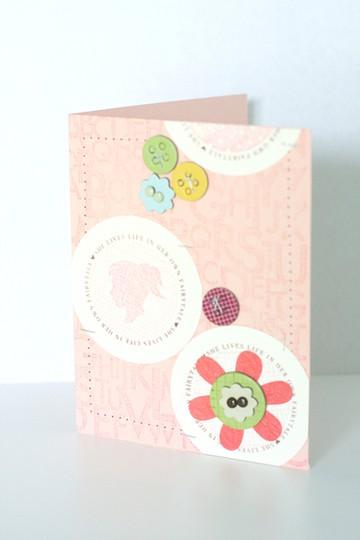 Girl card 500