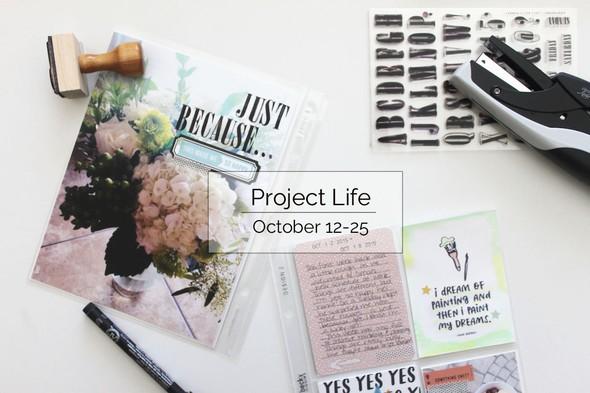 Project life oct. 12 25 title original