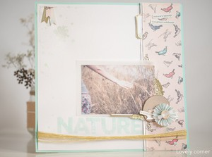 Layout summer. kit hello hello  studio calico   rut lovely corner  10
