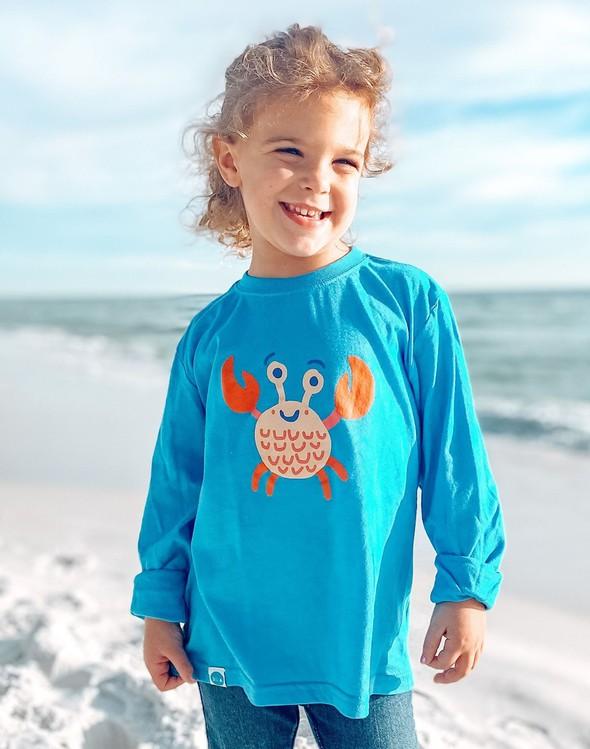 129028 crablongsleevetee30ablue kids slider1 original