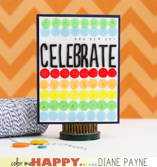 Celebrate dianepayne card