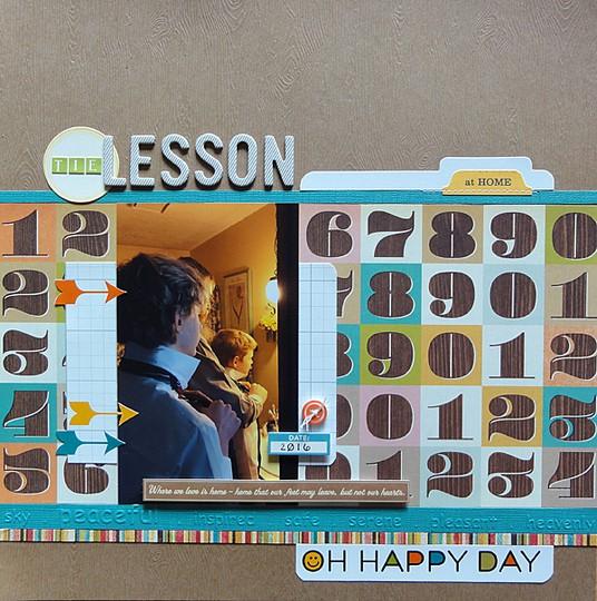 Tie lesson by jennifer larson original