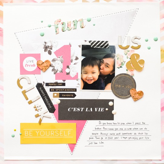 Wefie full layout by evelynpy original