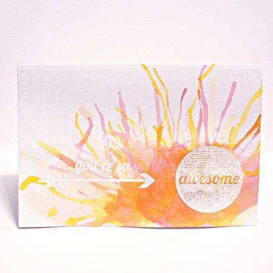 Youresoawesomecard web