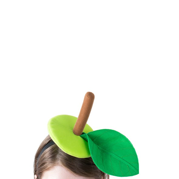 Green fruit hat product listing original