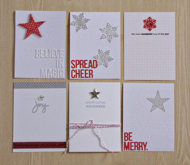 December daily project cards 1
