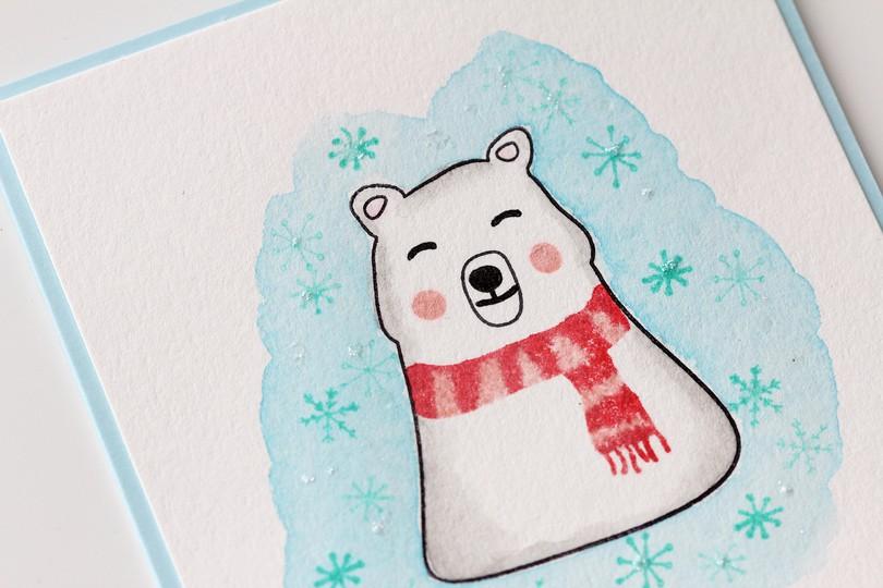 Polar bear detail original