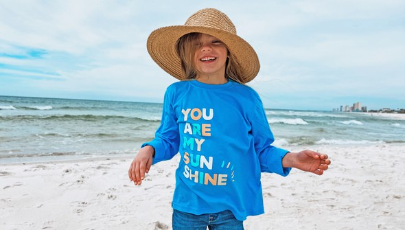 134235 you are my sunshine long sleeve tee kids 30a blue slider3 original