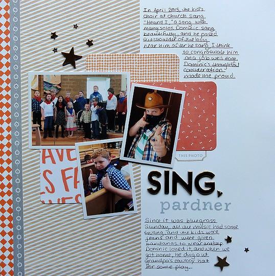 Sing pardner by jennifer larson original