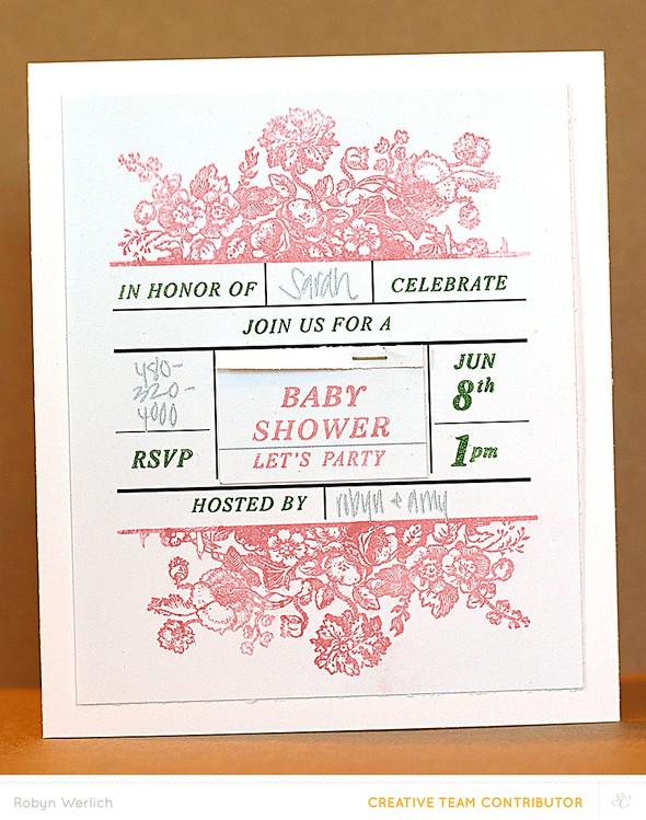 Rw baby shower