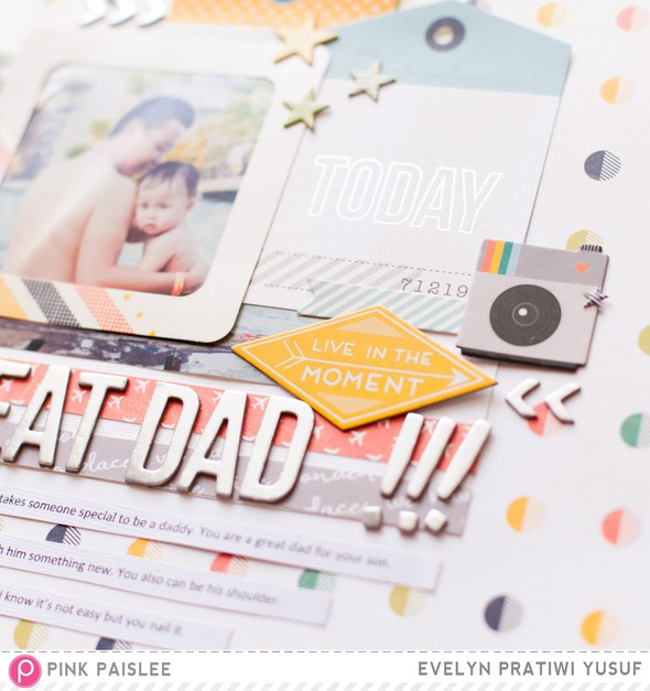 Great dad pink paislee details 2 by evelynpy original