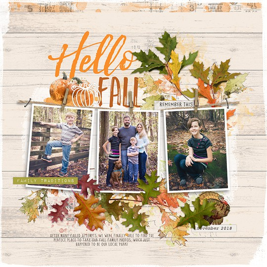 Hello fall original