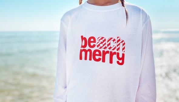 113881 beach merry candy cane long sleeve tee kids white slider3 original