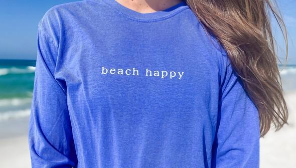 154117  simple beach happy comfort colors long sleeve tee wome flo blue slider2 %25281%2529 original