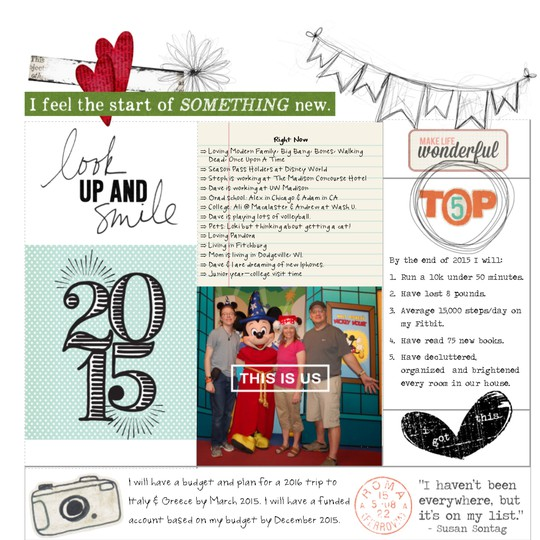 12x12 cover page