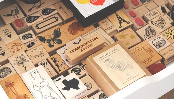 Wood stamps2 original