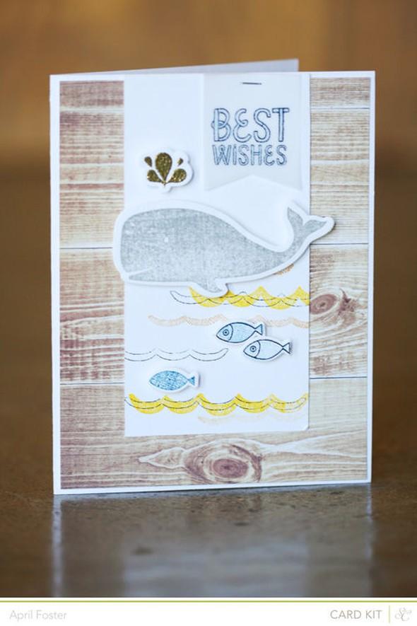 Card main bestwishes