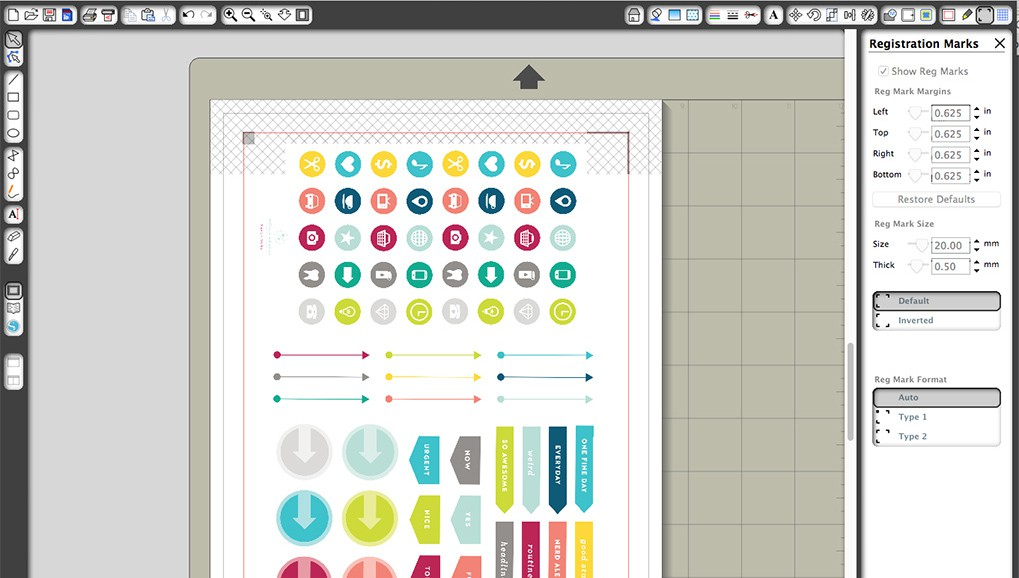 Picture 2 of DIY Planner Stickers