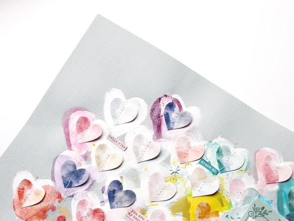 Amazing love you detail 6 by paige evans original