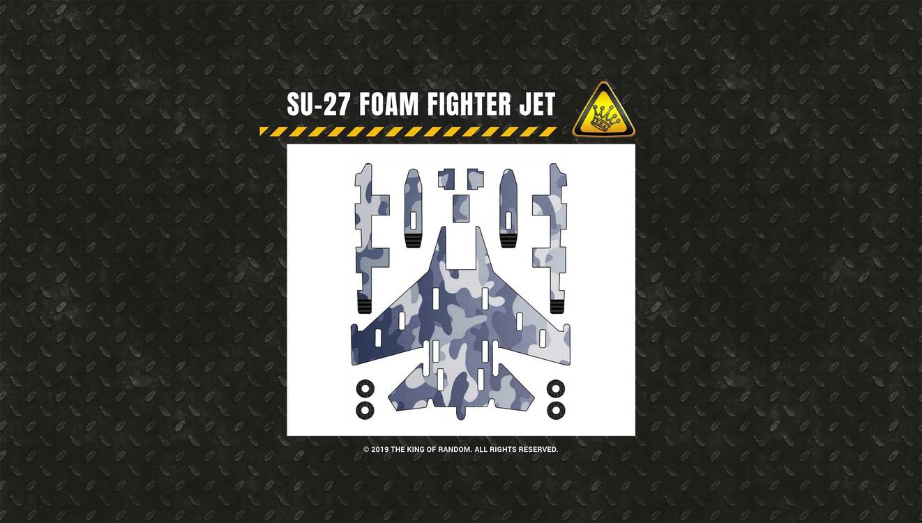 foam fighter jets