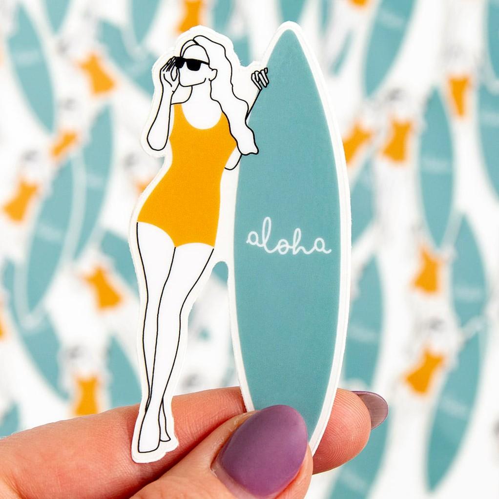 182684 surfergirldecalsticker
