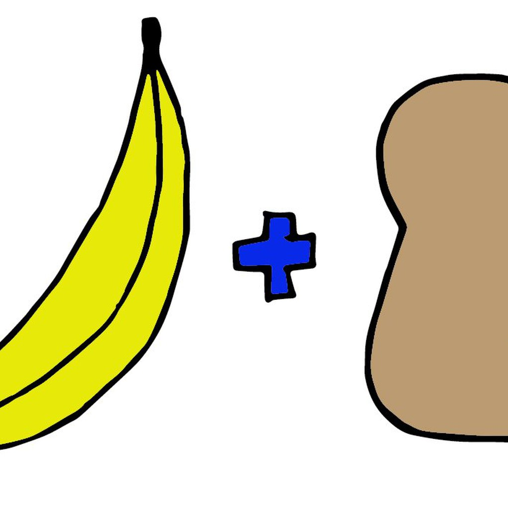Banana bread coloured original