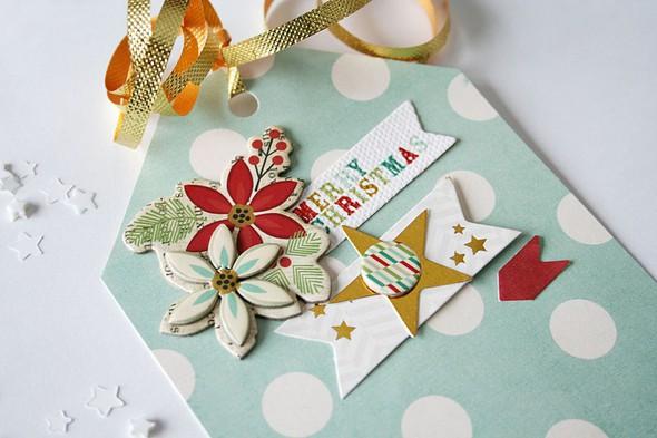 Merry christmas tag small