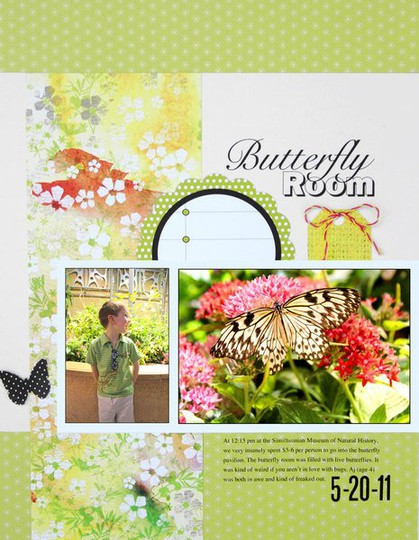 Butterfly room layoutsm