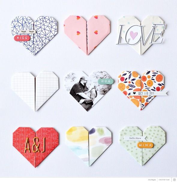 Jen chapin love origami lo %25281%2529 original original