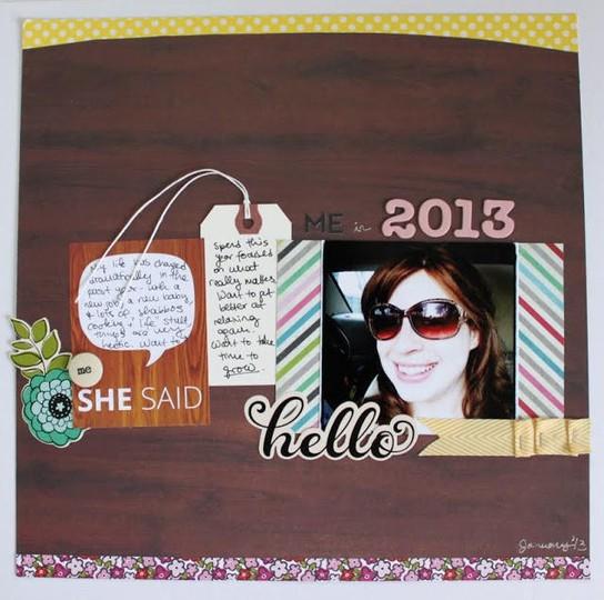 Hello 2013  submit