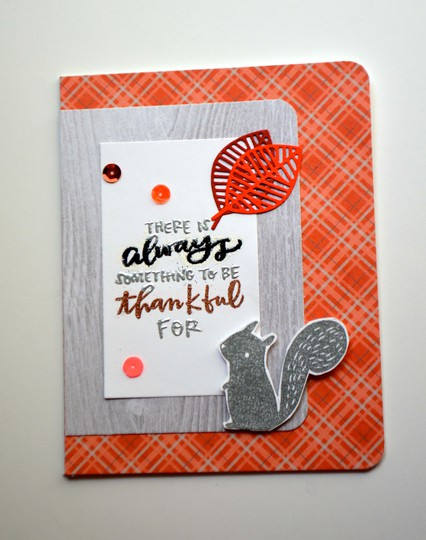 Always thankful card original