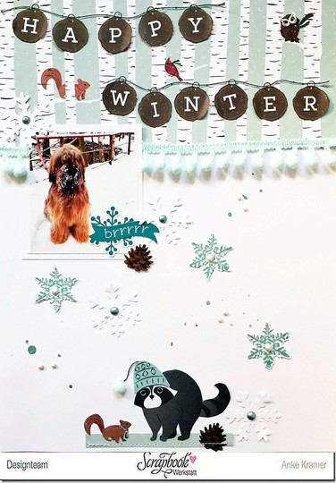 Anke kramer   photo play paper   winter meadow   happy winter s original