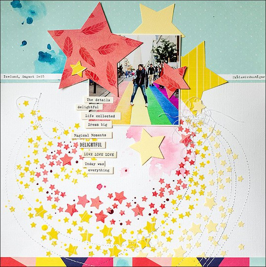 Scrapbooking papierwerkstatt sterne stars aprilkit %25281%2529 original