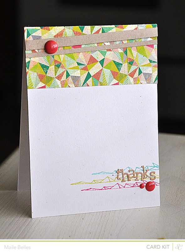 Thanks card (card kit only)