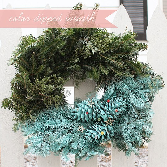 Gluestickgirl wreath