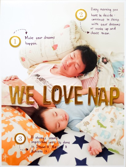 We love nap by evelynpy original
