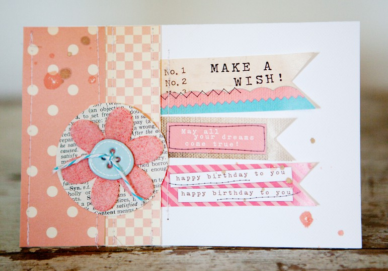 Marcypenner make a wish card