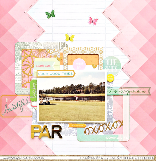 Danielledekonink paperissues pinkpaislee original