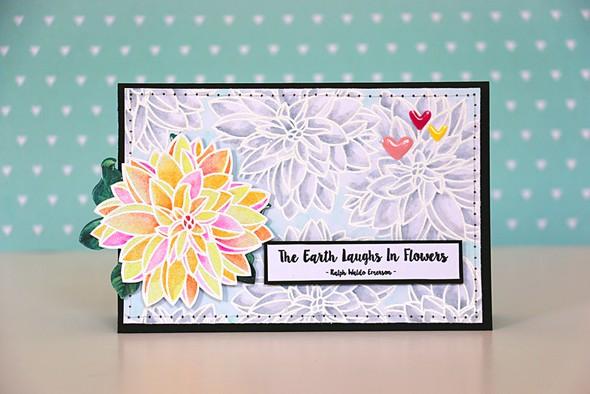 Laughs in flowers by natalie elphinstone original