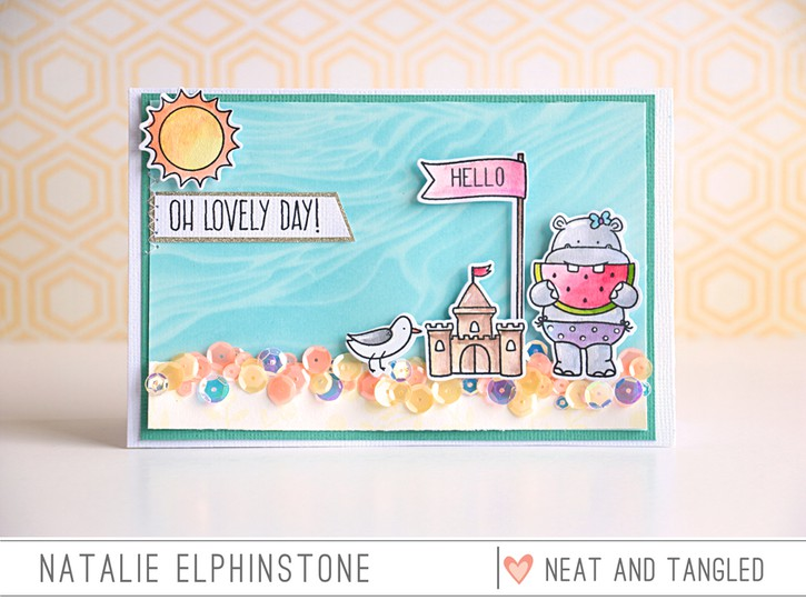 Lovely day by natalie elphinstone original
