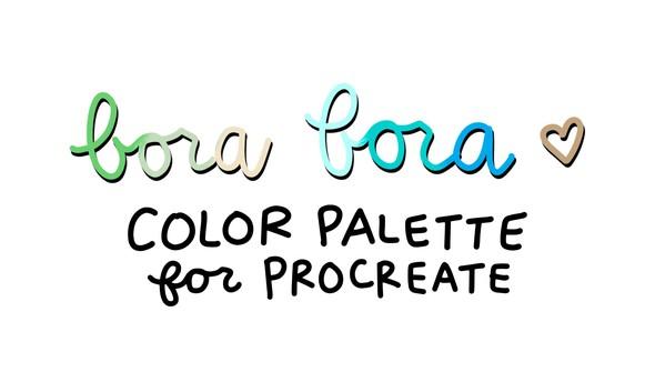 Cd color palette borabora original
