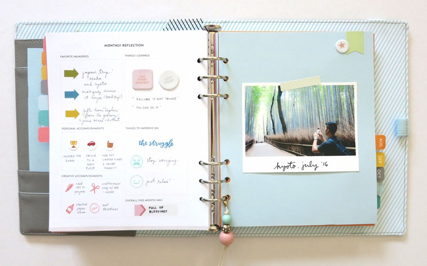 12 studio calico planner original