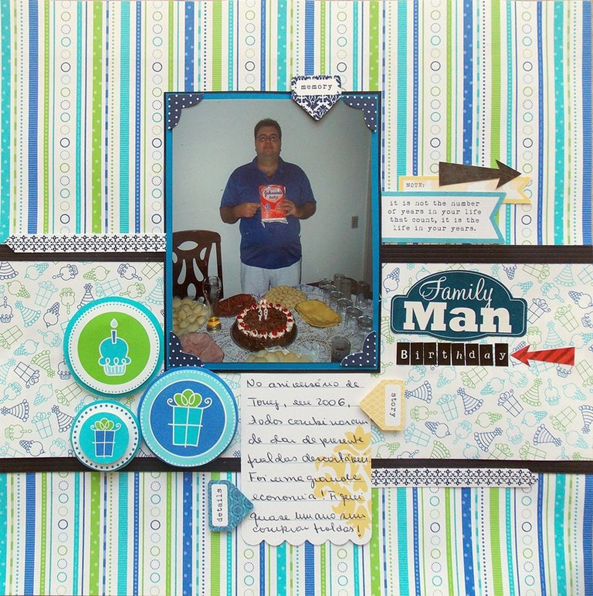 Family man birthday menor original