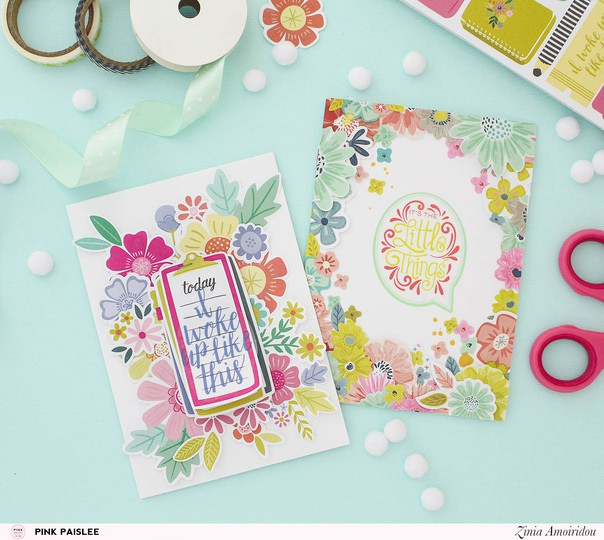 Pinkpaislee stickerbookcards 3 original