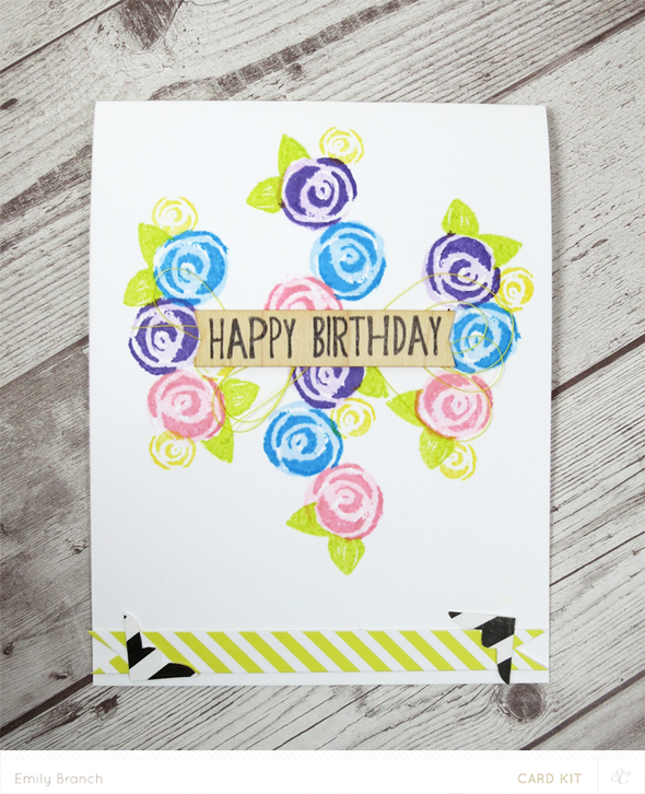 Birthdayroses card